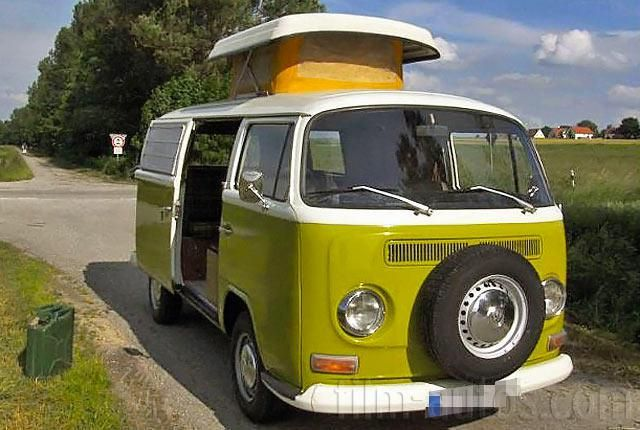 oldtimer vw t2 camping bus westfalia zum mieten vw bus. Black Bedroom Furniture Sets. Home Design Ideas
