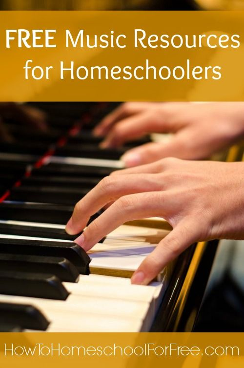 Kids can learn music theory, piano, guitar, and more with these FREE online music resources!