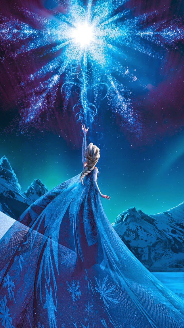 Magical Frozen Queen Elsa IPhone 6 Plus Wallpaper