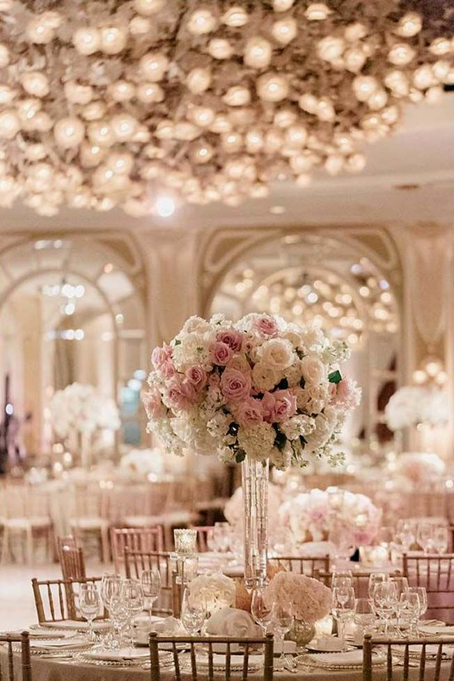 Amazing Wedding Centerpieces With Flowers ❤ See more: http://www.weddingforward.com/wedding-centerpieces/ #weddings