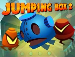 Guide this cute orange box to his destination! Use the mouse to drag him and set the direction.