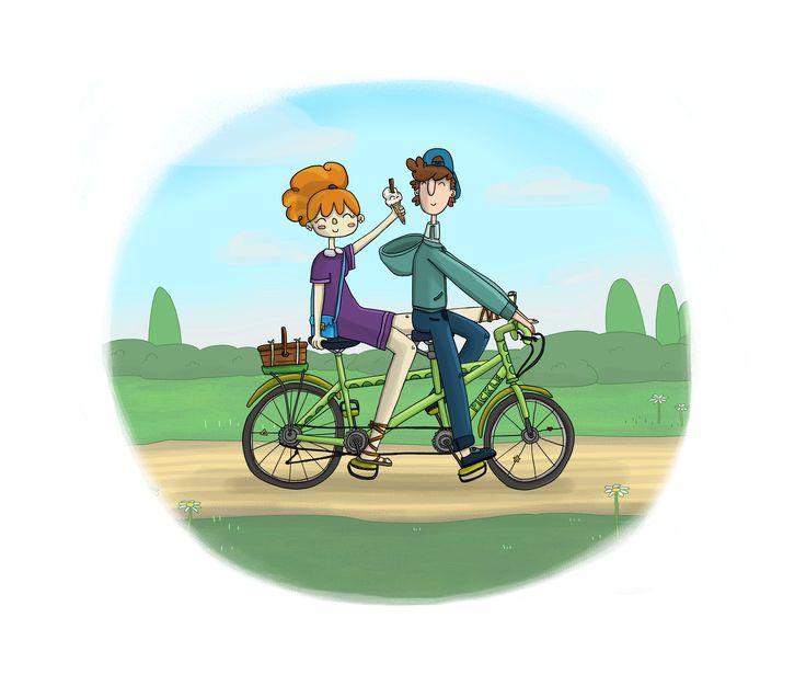 Tandem Pickle Bike