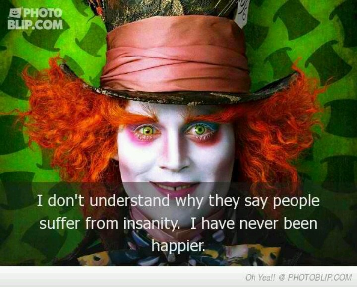 disney alice in wonderland mad hatter quotes johnny