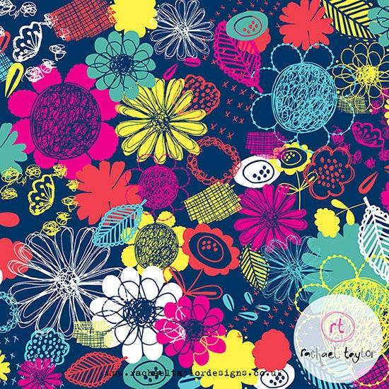 Rachael Taylor   Surface Pattern Design   Pattern