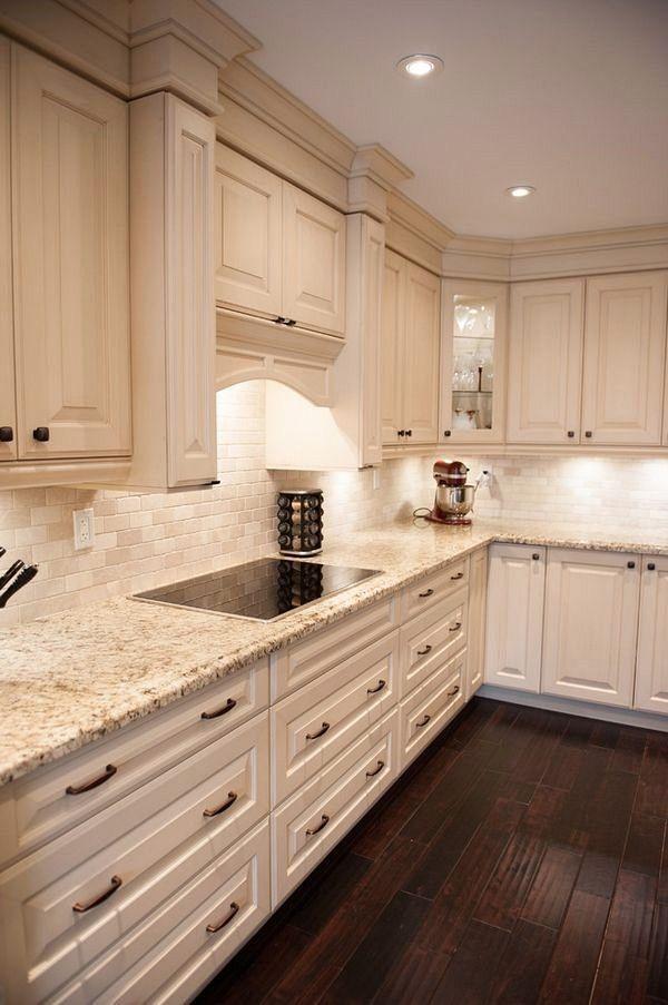 80 Alluring Kitchen Floor Ideas You Must Have 2018 Granite Countertops Kitchen White Kitchen Design Kitchen Remodel