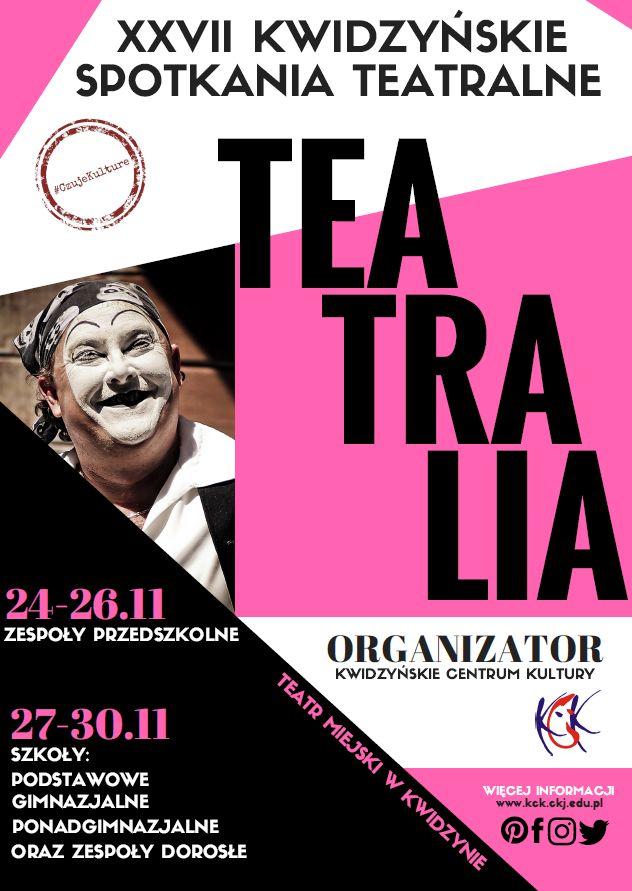 Teatralia, listopad 2017 r.