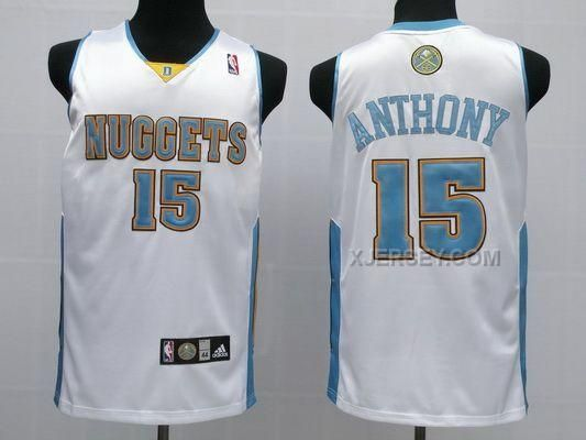 3775f6e5a ... italy vintage nike denver nuggets carmelo anthony stitched nba jersey  mens 2xl ebay. from ebay