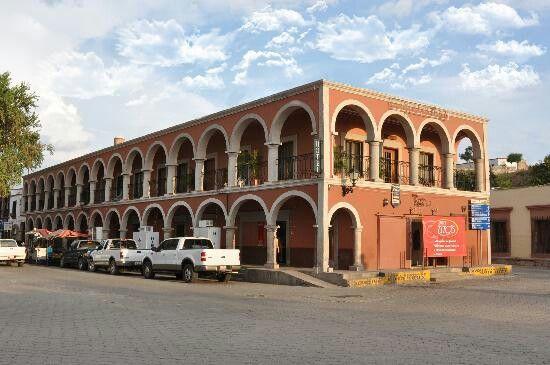 Hotel los arcos alamos Sonora.