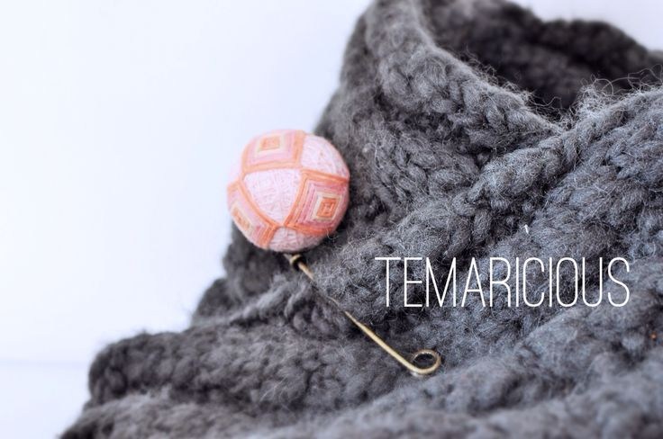 A square pattern Temari pin by Temaricious   www.temaricious.com