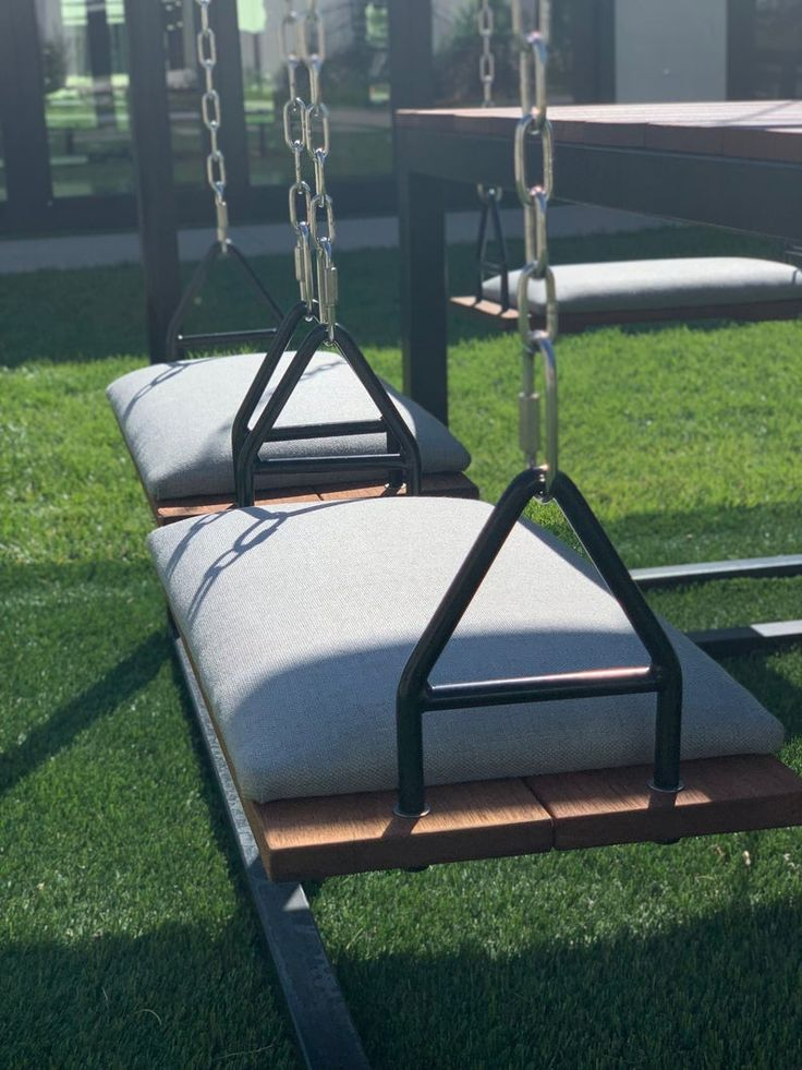 Black 8seater swingtable with red mahogany etsy swing