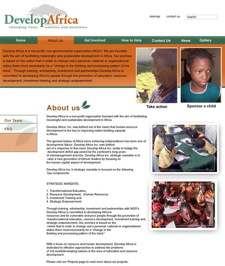 Idea for DA Website