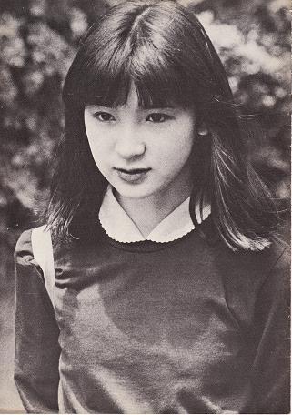 山口小夜子 young Sayoko Yamaguchi