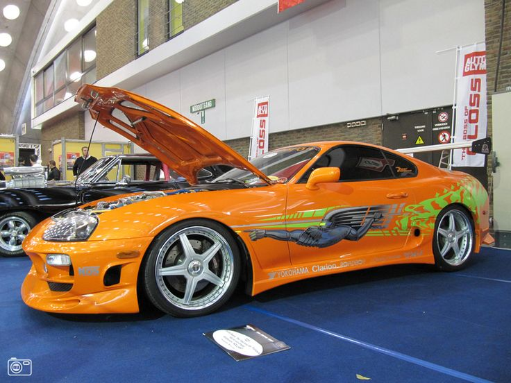 toyota supra from the fast and the furious getting excited for our movie night cars. Black Bedroom Furniture Sets. Home Design Ideas