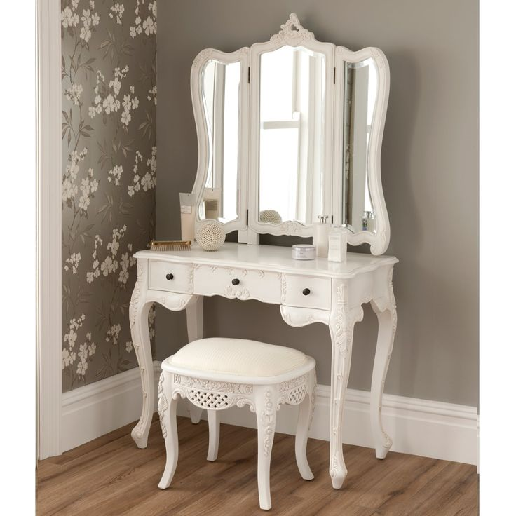 Large Dressing Table Stool