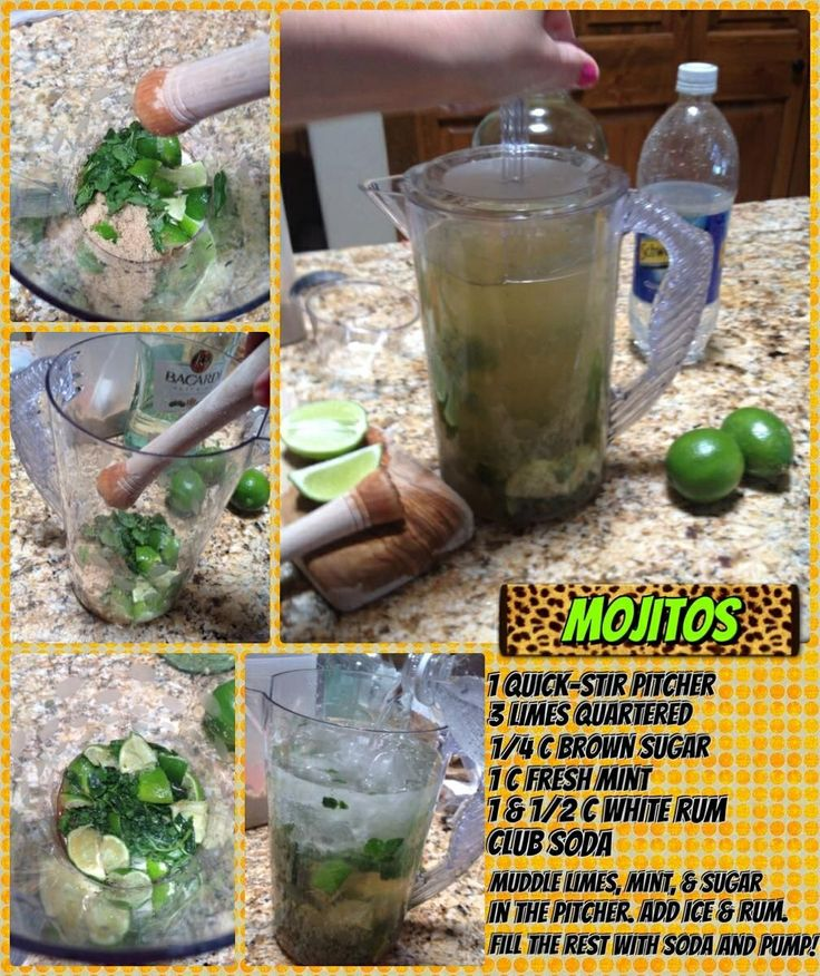 Mojitos in our quick stir pitcher! Get yours at www.pamperedchef ...