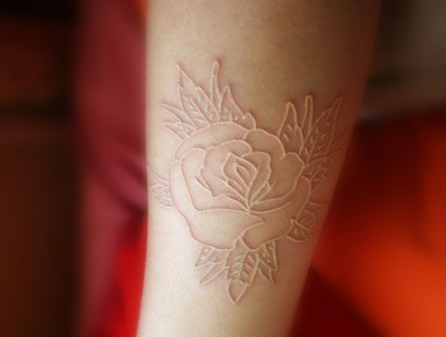 Tatuaggio Bianco o White Ink