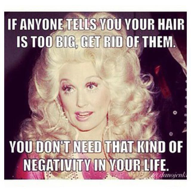 36 Of The Best Beauty Memes On The Internet #refinery29  http://www.refinery29.com/online-beauty-memes#slide-9  The bigger the hair, the closer to God, right?