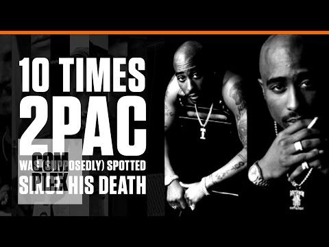 """#TBT 10 TUPAC """"SIGHTINGS"""" SINCE HIS DEATH"""