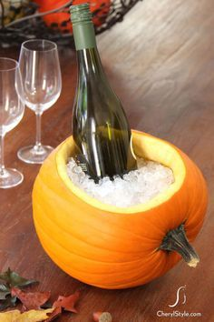 11 Brilliant Ways to Use Pumpkins at a Halloween Party