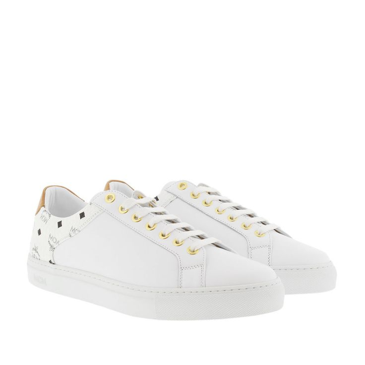 awesome MCM MCM Sneakers - Visetos Combi Sneaker White - in weiß - Sneakers für Damen Check more at http://portal-deluxe.com/produkt/mcm-mcm-sneakers-visetos-combi-sneaker-white-in-weiss-sneakers-fuer-damen-2/