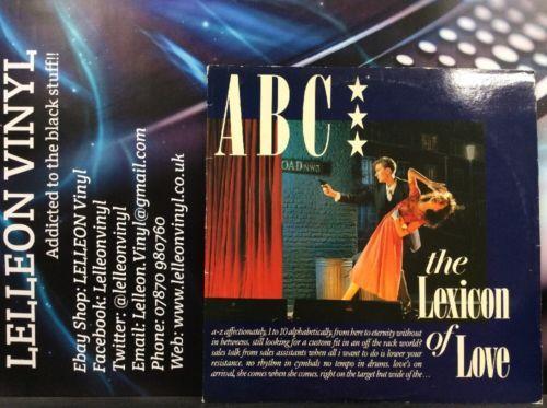 ABC The Lexicon Of Love LP Album Vinyl Record LP NTRS1 A4 Pop Rock 80's Music:Records:Albums/ LPs:Pop:1980s