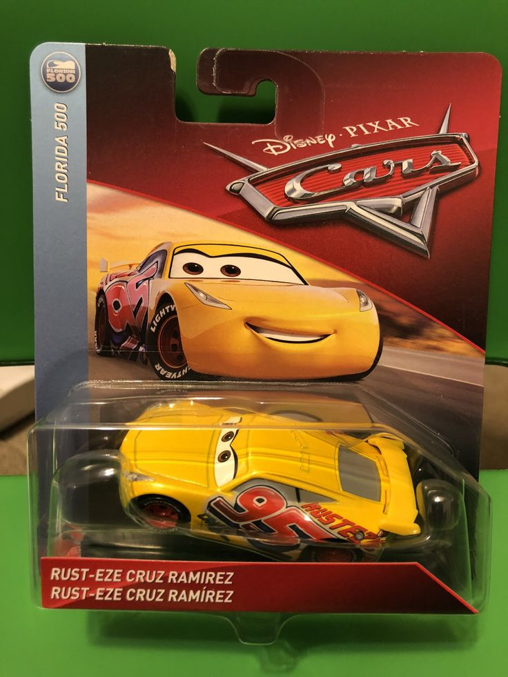 Cars 3 Diecast 1:55 Scale 2018 Rust-Eze Cruz Ramirez