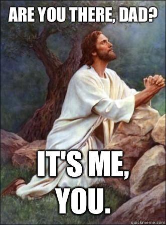 God, are you there? #Trinity #ThreeinOne
