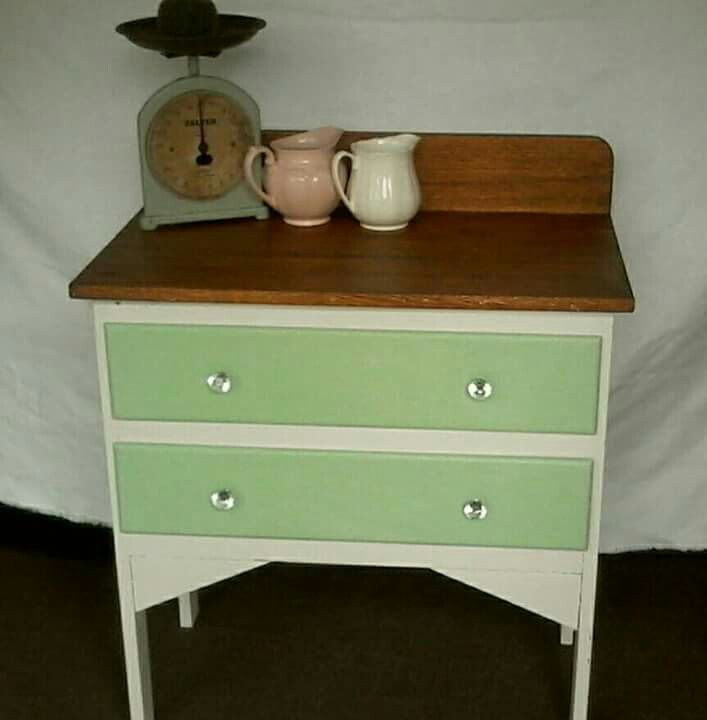 Chalk painted by Revamped vintage