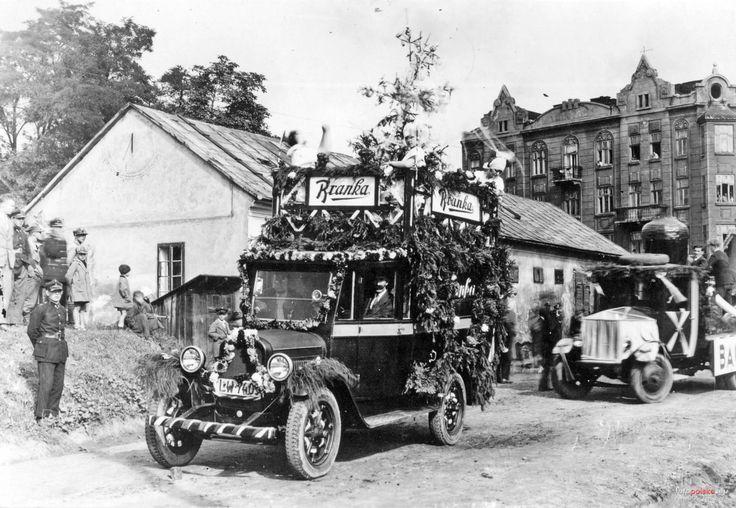Zdjęcia niezidentyfikowane, Lwów - 1932 rok, stare zdjęcia