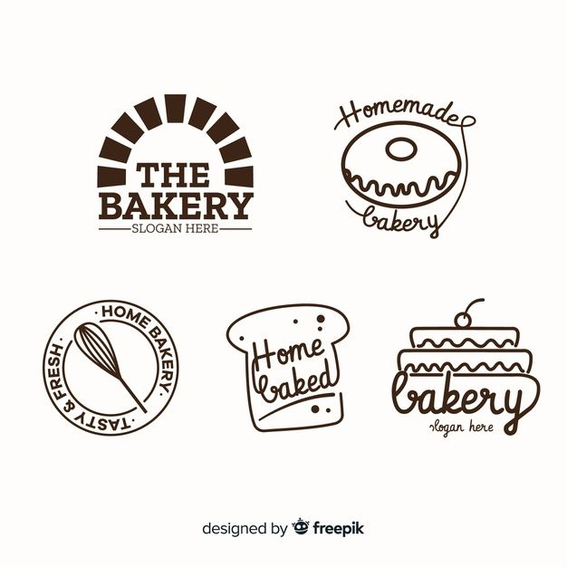 Bakery Corporate Identity Logo Template