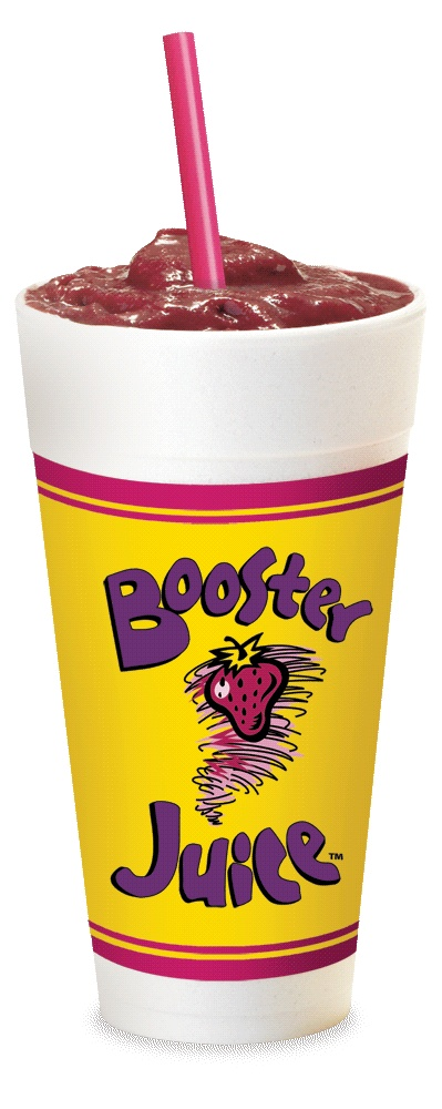 Booster Juice Smoothies!