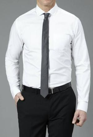 kemeja putih polos/kerja /formal