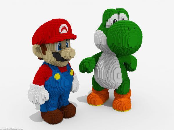 Quand Mario rencontre les amoureux des Lego - #Olybop