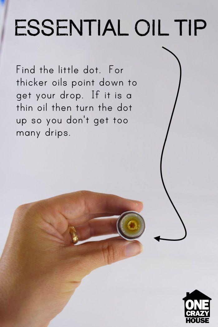 essential oil tip
