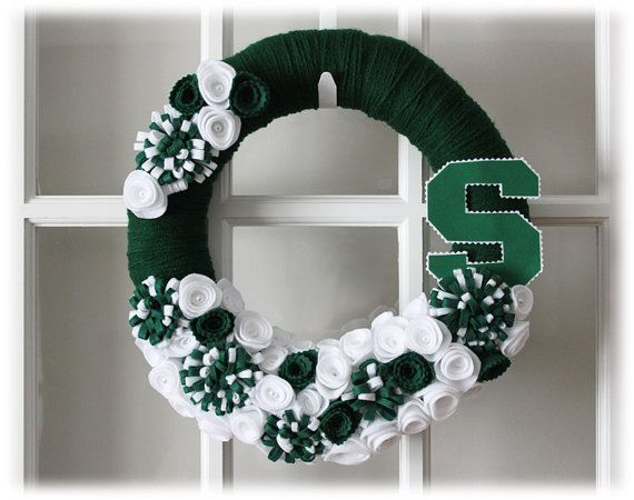 RESERVED Michigan State University Spartans by TheLandofCraft, $48.00