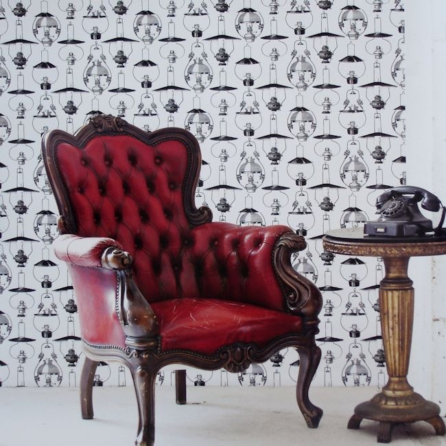 Black & White Collection by Vision BW28734.  Wallpapershop / Murrays Interiors