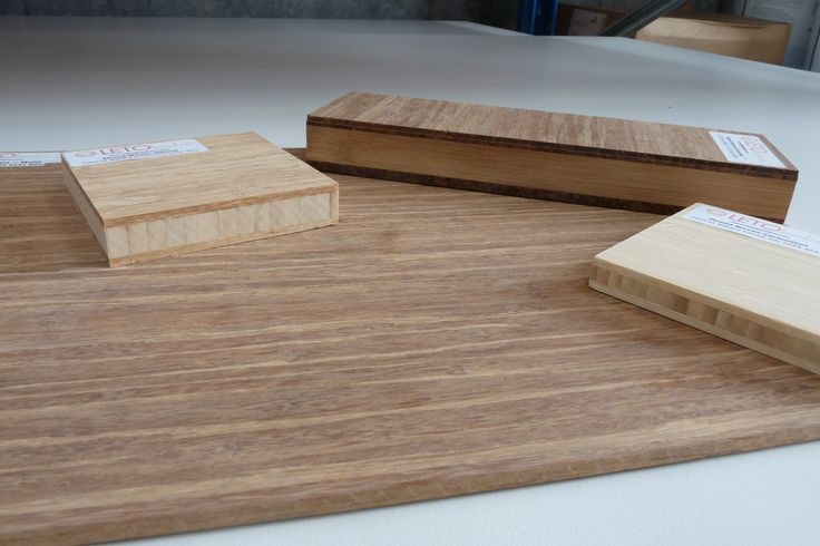 Coming in a variety of thicknesses, bamboo is ideal for kitchens, bathrooms and any cabinetry project.