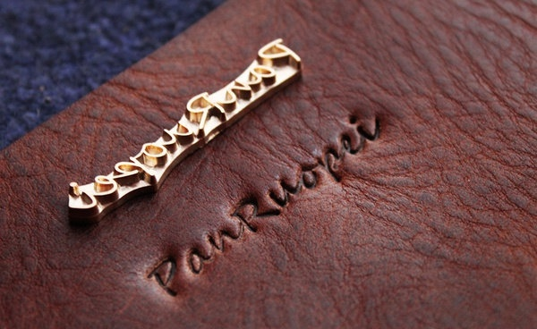 this is one cool stocking stuffer ... // custom leather imprinter //  $10.00... for all tack...