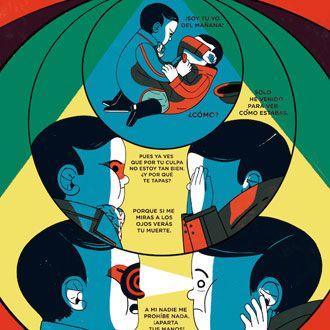 Comic e ilustración de Cristina Daura