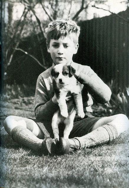 John Lennon with his friend
