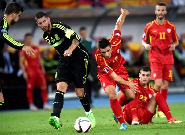 Prediksi Bola Macedonia vs Spanyol 12 Juni 2017