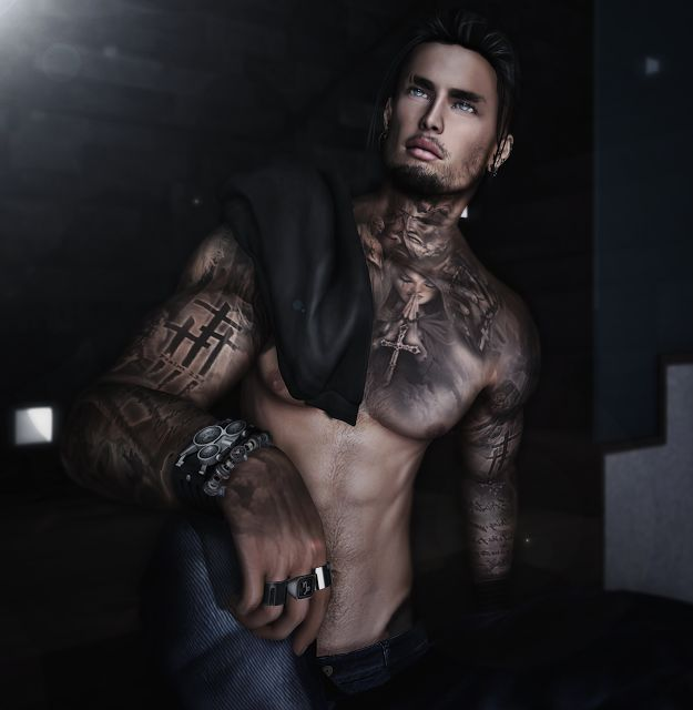 # 288 You broke me like I was one of your fucking promises #SL #SecondLife #PourSLHomme #MRSLFeed