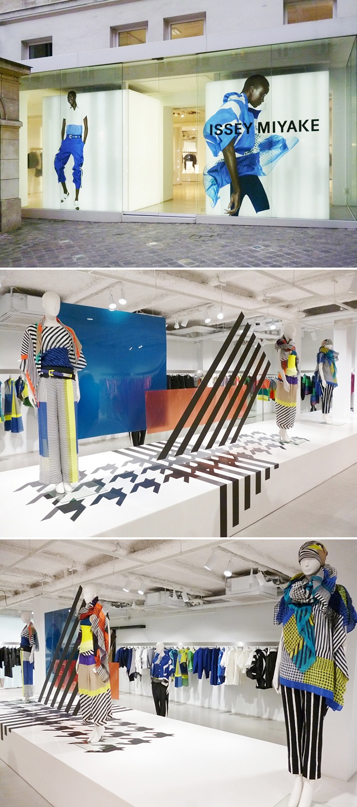 17 best images about interior design on pinterest retail pop up stores and - Issey miyake rue royale ...