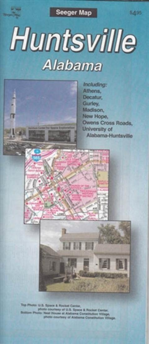 Huntsville, Alabama by The Seeger Map Company Inc.