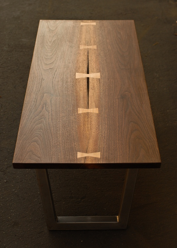 Walnut dovetail coffee table