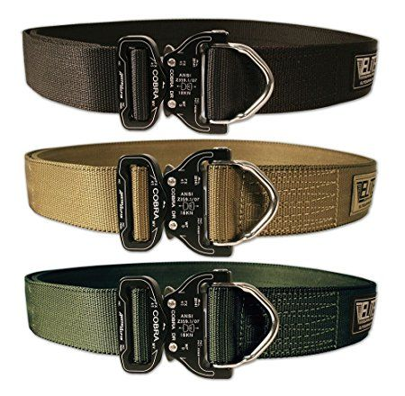 Amazon.com : Elite Survival Systems Cobra Rigger's Belt with D Ring Buckle : Sports & Outdoors