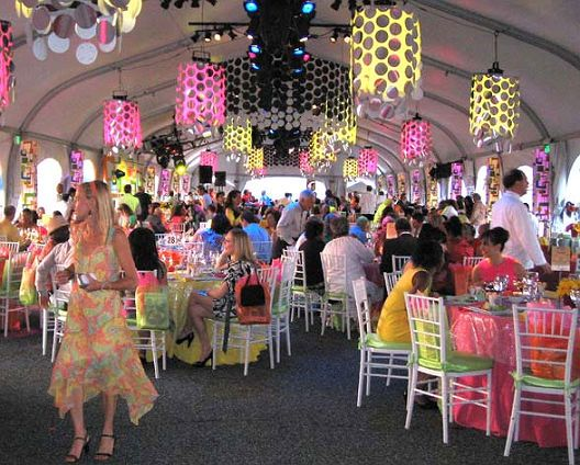 60u0027s party theme | Photo courtesy BST via Hamptons Online ]