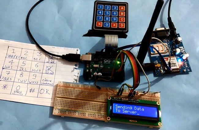 How to Send Data to Web Server using Arduino and SIM900A GPRS/GSM