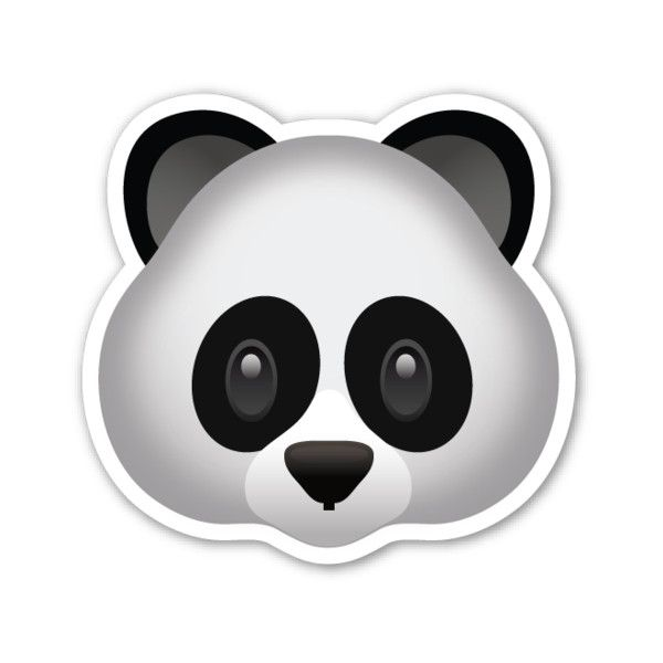 emoji tiere panda
