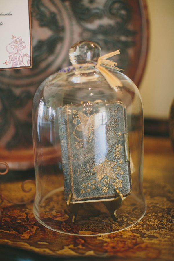 Cloche Decor | photography by http://www.taylorlordphotography.com/